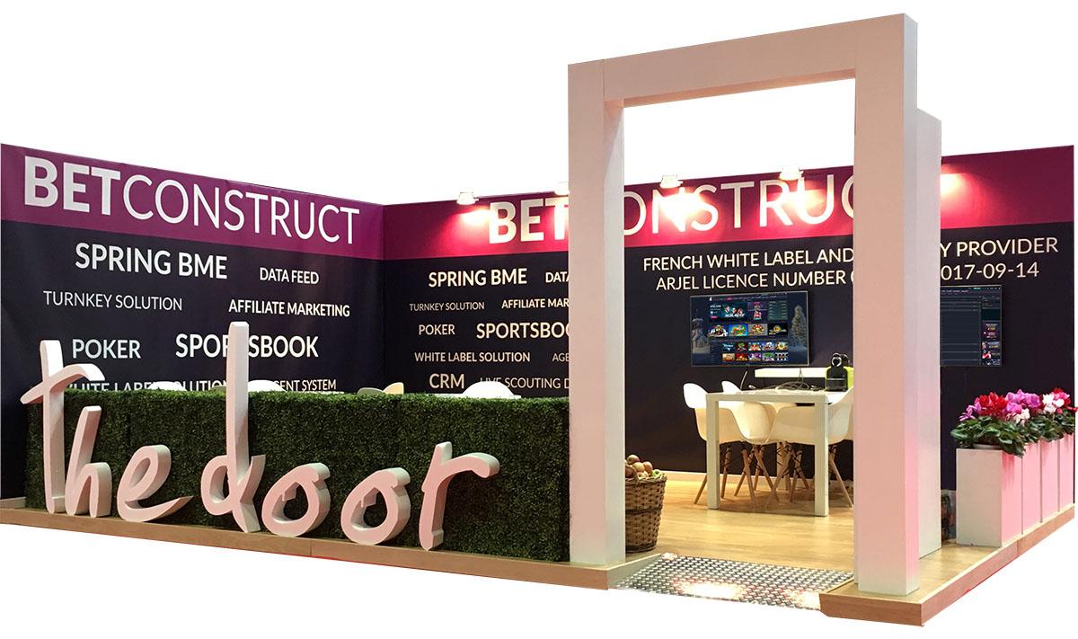 BetConstruct exhibition stand Monaco - Exhibition Stand Design | Cannes, Nice, Marseille & Monaco