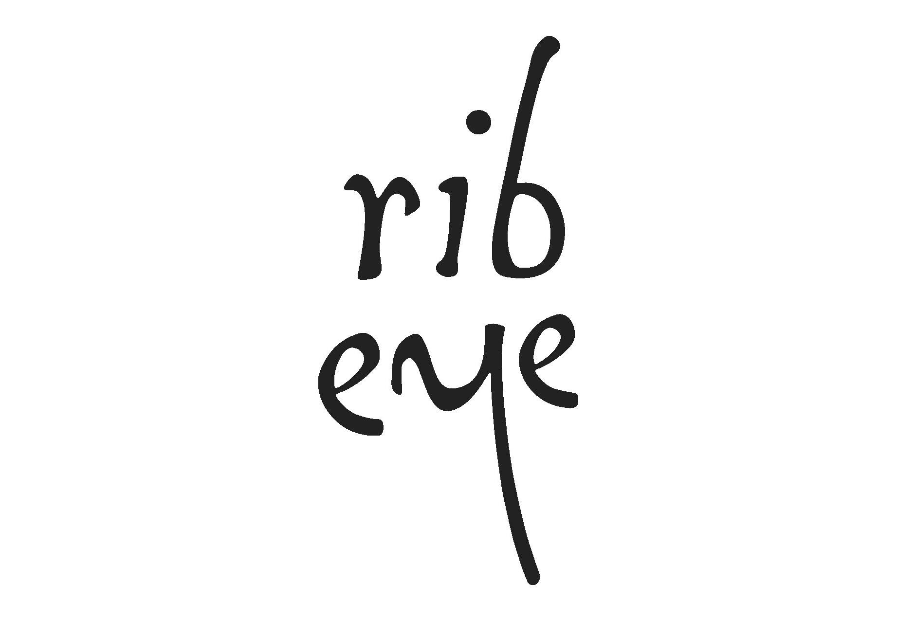 rib eye logo black - Exhibition Stand Design | Cannes, Nice, Marseille & Monaco